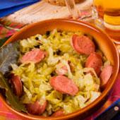 sauerkraut-mit-wurst